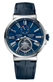 Ulysse Nardin Часы Ulysse Nardin Maxi Marine Chronometer 43mm 1283-181/E3 Tourbillon