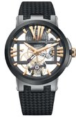 Ulysse Nardin Dual Time 1713-139/02-B Executive Skeleton Tourbillon 43 mm