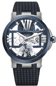Ulysse Nardin Dual Time 1713-139/43 Executive Skeleton Tourbillon