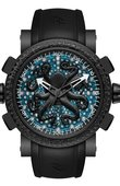 Romain Jerome Часы Romain Jerome Titanic-Dna RJ Romain Deep Blue Octopus PVD