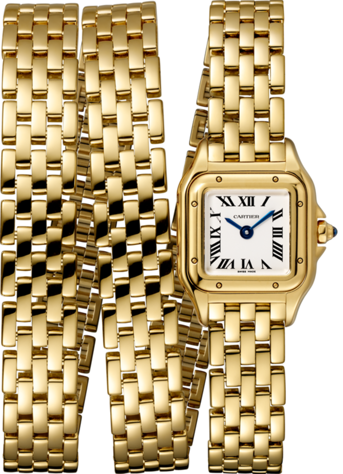 Cartier WGPN0012 Panthere Secrete De Cartier Triple Loop Yellow Gold