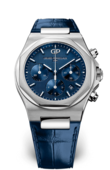 Girard Perregaux Laureato 81020-11-431-BB4A Chronograph Stainless Steel Blue Alligator