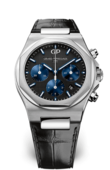 Girard Perregaux Laureato 81020-11-631-BB6A Chronograph Stainless Steel Black Alligator