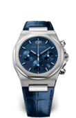 Girard Perregaux Laureato 81040-11-431-BB4A Chronograph Stainless Steel Blue Alligator
