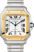 Cartier Santos De Cartier W2SA0006 Gold And Steel