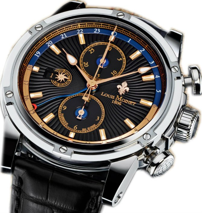 LM-24.10.52 Louis Moinet Geograph Limited Editions
