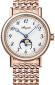 Breguet Classique 9087br/29/rc0 Automatic Moonphase 30 mm Ladies
