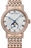 Breguet Classique 9088br/52/rc0/dd0d Automatic Moonphase 30 mm Ladies