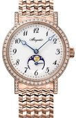 Breguet Classique 9088br/29/rc0/dd0d Automatic Moonphase 30 mm Ladies