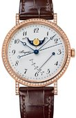 Breguet Classique 8788br/29/986.dd00 Moonphase Power Reserve 36 mm Ladies