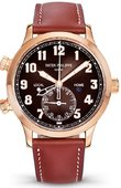 Patek Philippe Complications 5524R-001 Complicated Watches Calatrava Pilot Travel Time