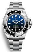 Rolex Часы Rolex Deepsea 126660-0002 44 mm Steel D-Blue