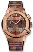 Hublot Classic Fusion 521.OX.2709.NR.ITI18 Chronograph Italia Independent King Gold