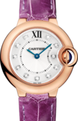 Cartier Ballon Bleu de Cartier WJBB0019 Pink Gold Diamonds