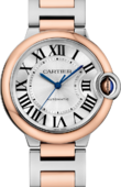 Cartier Ballon Bleu de Cartier W2BB0003 Pink Gold Steel