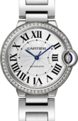 Cartier Ballon Bleu de Cartier W4BB0017 Steel Diamonds