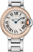 Cartier Ballon Bleu de Cartier WE902079 Pink Gold Steel