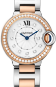 Cartier Ballon Bleu de Cartier W3BB0009 Pink Gold Steel