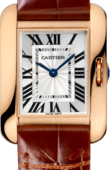 Cartier Tank W5310027 Anglaise Small Model Pink Gold