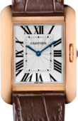 Cartier Tank W5310042 Anglaise Modium Model Pink Gold