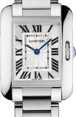 Cartier Tank W5310022 Anglaise Small Model Steel