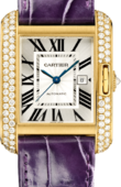 Cartier Tank WT100017 Anglaise Large Yellow Gold Diamonds