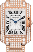 Cartier Tank HPI00558 Anglaise Small Model Pink Gold Diamonds