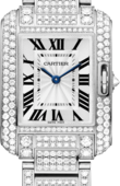 Cartier Tank HPI00559 Anglaise Small Model White Gold Diamonds