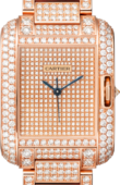 Cartier Tank HPI00560 Anglaise Large Model Pink Gold Diamonds