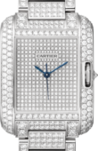Cartier Tank HPI00561 Anglaise Large Model White Gold Diamonds