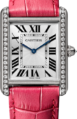 Cartier Captive De Cartier WJTA0015 Louis Large White Gold Diamonds