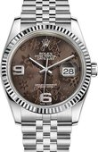 Rolex Datejust 116234-0116 36mm Steel and White Gold
