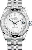 Rolex Datejust 178344-0005 31mm Steel and White Gold