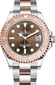 Rolex Yacht Master II 268621-0003 37 mm Everose Gold and Steel
