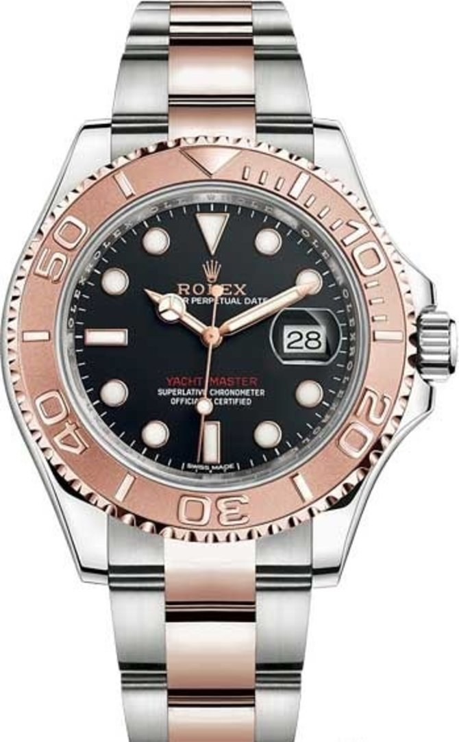 Rolex 116621-0002 Yacht Master II 40 mm Steel and Everose Gold