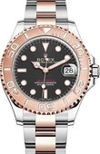 Rolex Yacht Master II 268621-0004 37mm Everose Gold and Steel