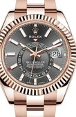 Rolex Sky-Dweller 326935-0007 42mm Everose Gold