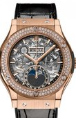 Hublot Classic Fusion 547.OX.0180.LR.1104 Aerofusion Moonphase King Gold