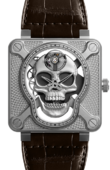 Bell & Ross Aviation BR01-SKULL-SK-ST Laughing Skull