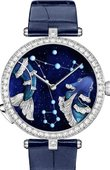 Van Cleef & Arpels Poetic Complications VCARO8TR00 Lady Arpels Zodiac Lumineux