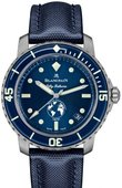 Blancpain Часы Blancpain Fifty Fathoms 5008-11B40-52A Ocean Commitment III