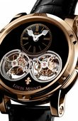 Louis Moinet Extraordinary Pieces LM-46.50.50 Sideralis Inverted Double Tourbillon Black Onyx
