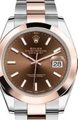Rolex Datejust 126301-0001 41mm Steel and Everose Gold