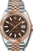 Rolex Datejust 126301-0002 41mm Steel and Everose Gold
