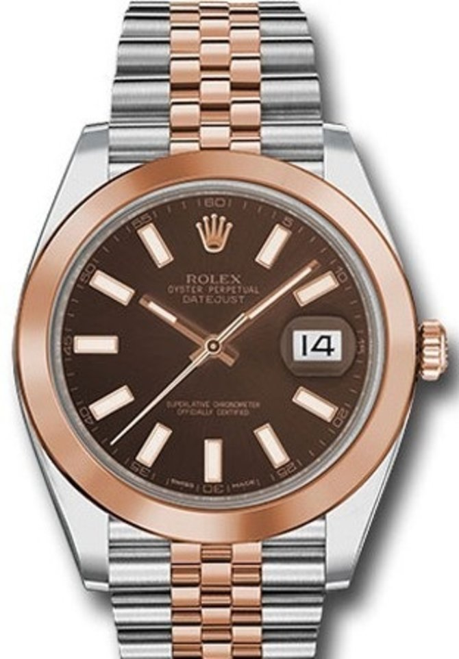 Rolex 126301-0002 Datejust 41mm Steel and Everose Gold