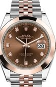 Rolex Datejust 126301-0004 41mm Steel and Everose Gold