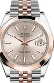 Rolex Datejust 126301-0010 41mm Steel and Everose Gold