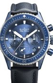 Blancpain Часы Blancpain Fifty Fathoms 5200-0340-O52A Bathyscaphe Bucherer Blue Edition