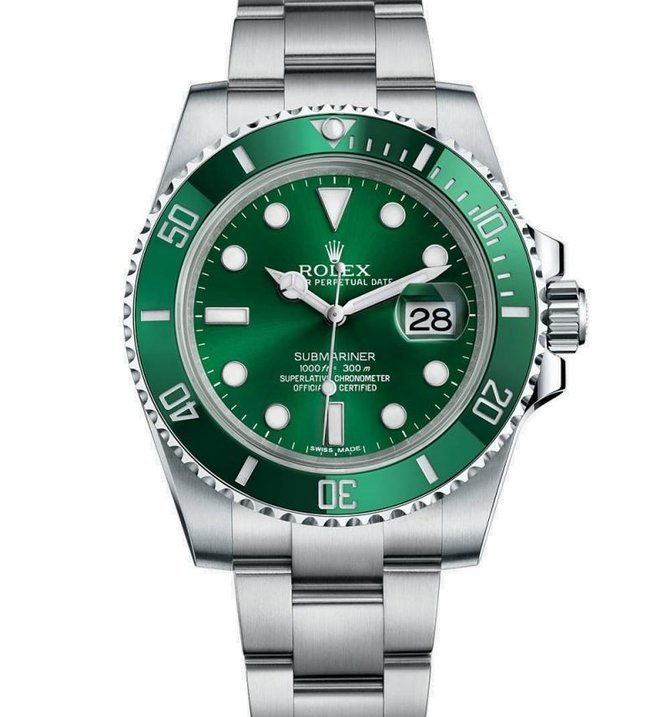 Rolex 116610LV USED Submariner Date 40mm Steel