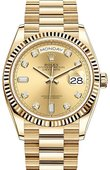 Rolex Часы Rolex Day-Date 128238-0008 36 mm Yellow Gold